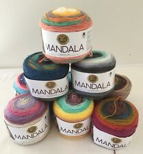 Lion Brand Mandala - Acrylic DK weight multi-color striped cake yarn - 590 yards