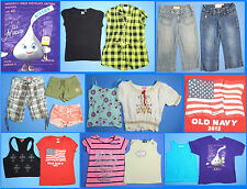 15 Piece Lot of Nice Clean Girls Size 8 Spring Summer Everyday Clothes ss28