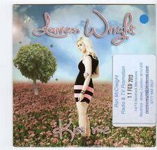 (EZ62) Lauren Wright, Kiss Me - 2012 DJ CD
