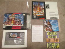 King Arthur and Knights of Justice (Super Nintendo SNES) Complete CIB