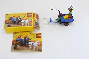 Lego 1877 Castle Forestmen Crusader's Cart - Complete w Box and Manual READ