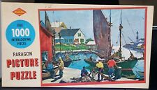 "Vintage Built-Rite ""Harbor of Happy Memories"" 1000 piece Paragon Warren Puzzle"