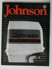 JOHNSON Outboards 1987 dealer brochure - English - Canada - ST2003000418