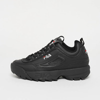 SCARPE FILA SNEAKERS DONNA DISRUPTOR LOW WMN 1010302.12V BLACK NERO ORIGINALI