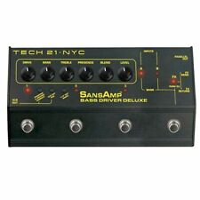 Tech 21 SansAmp Bass Driver Deluxe Preamp & Di Effect Pedal EOFY 1 Only