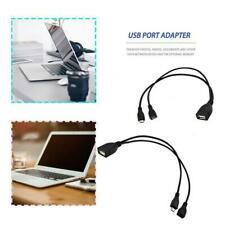 Micro USB Host OTG Cable With Female To Male USB Plug Power PC Phone Adapter