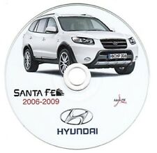 Hyundai Santa Fe 2006-2009 workshop manual workshop manual