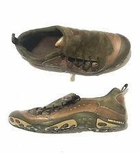 Merrell Womens US Size 7 Bria Olive Green Suede Leather Hiking Outdoor Shoes