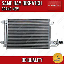 VW BORA EOS JETTA SCIROCCO TOURAN AIR CON CONDENSER/RADIATOR 2 YEAR WARRANTY