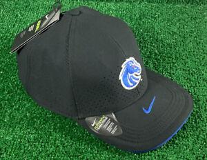 NIKE Aerobill Boise State BroncosAuthentic Team Issue  Black HAT Adjustble XL