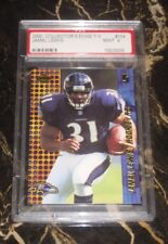 2000 COLLECTOR'S EDGE RETAIL ROOKIE T-3 CARD #154 JAMAL LEWIS PSA GRADED MINT 9
