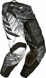 NOS FLY RACING 368-43022 KINETIC GLITCH PANTS BLACK GREY SIZE YOUTH 22