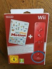 Wii Play Motion + Wii Remote Plus Red (open box) - Nintendo UK Contents Sealed!