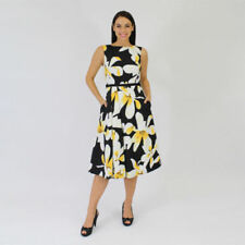 Spring Polyester Dresses for Women with Fit & Flare