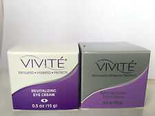 Vivite Revitalizing Eye Cream 0.5 oz Jar - Brand New! Free Shipping