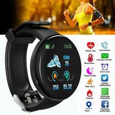 Wasserdicht Smart Watch Blutdruck Herzfrequenzmesser Sport Fitness