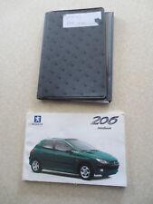 1999 Peugeot 206 automobile owner's manual - UK
