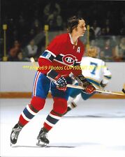 Jacques Laperriere In Action On Defense 8x10 Photo Montreal Canadiens Hof Great