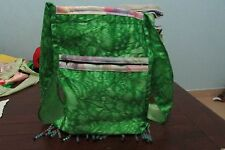 Unique Ladies Women's Funky Festival Shopping Beach Green Trendy Hand Bag