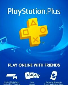 PlayStation Plus (PS+) 12 Month / 1 Year Membership Subscription