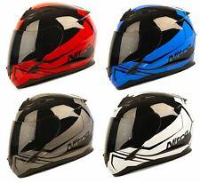 Nitro N2400 Rogue Full Face Motorcycle Motorbike Crash Helmet