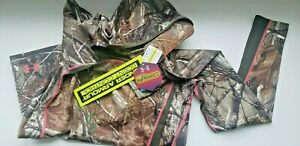 Under Armour Womens Hoody Camo Scent Control Pullover Realtree Sweatshirt size L