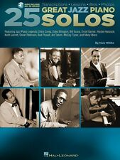 25 Great Jazz Piano Solos - Transcriptions - Lessons - Bios - Photos P 000129700