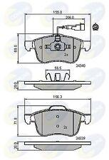 Comline Front Brake Pad Set CBP11718  - BRAND NEW - GENUINE - 5 YEAR WARRANTY