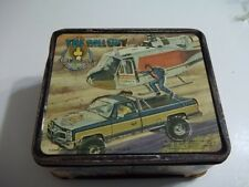 Vtg The Fall Guy 1981 Metal Lunch Box no Thermos 20th Century Fox Corp. Aladdin