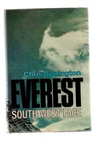 EVEREST SOUTH WEST FACE - CHRIS BONNINGTON mountaineering climbing mountains dj
