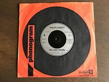 "PHILIP LYNOTT Yellow Pearl Theme From Top Of The Pops UK 7"" 1980 EX+ Thin Lizzy"