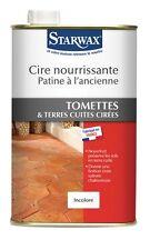 CIRE NOURISSANTE PATINE A L ANCIENNE TERRES CUITES TOMETTES 1L 354 STARWAX
