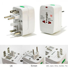 International Universal Travel Power Plug AC Adapter Converter UK US EU AU New~~