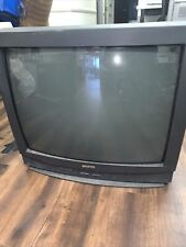 Sanyo DS27580 27 Inch TV Retro Gaming With A/V Inputs Tube Television WORKS EUC