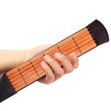 6 Fret Portable Pocket Strings Guitar Practice Tool Gadget Novice to Expert