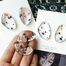 Geometric Irregular Transparent Acrylic Waterdrop Stud Jewelry Earrings Girl t