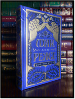 War And Peace by Leo Tolstoy New Sealed Leather Bound Deluxe Hardback w/ Ribbon