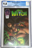 Hellwitch Sacrilegious #1 Marat Mychaels Spawn Homage Edition CGC 9.8 Coffin