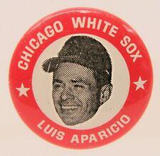original LUIS APARICIO Chicago White Sox 1969 MLBPA baseball pinback button