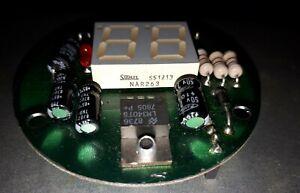 Stanley NAR263 Dual LED display on circuit board