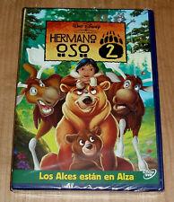 HERMANO OSO 2 DISNEY DVD NUEVO PRECINTADO ANIMACION (SIN ABRIR) R2