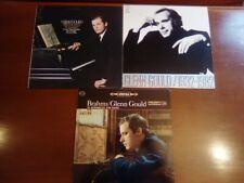 GLENN GOULD  LOT VINYLES LP       3 DISQUES  33T    Que des belles Editions
