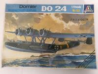 Vintage ITALERI Dornier DO24 Reconnaissance Seaplane 1:72 Model Kit - Sealed