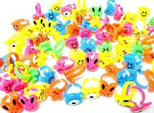 12 pcs Color RINGS Goody Bag Princess Pinata Birthday Party Favors Filler Toys
