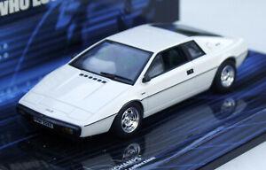 """Lotus Esprit S1 Year 76-78, White, """" Der Spy, Der Me Loved """" MINICHAMPS M.1: 43"""