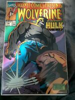2 ISSUES MINT!! 1990 Marvel Comics Presents #55 Wolverine vs the Incredible Hulk