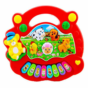 Baby Developmental Music Toy Gift Kids Musical Toy Educational Animal Farm Piano