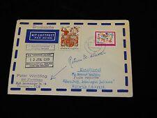 Vintage Cover,ZWICKAU,EAST GERMANY, DDR,Paquabot MS Koningin Juliana, 1969,To UK