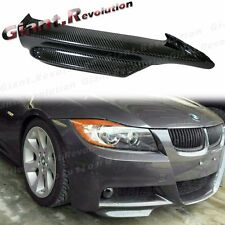Carbon Fiber Front Splitter Lip BMW 05-08 E90 E91 325i 328i 335i M-Sporty Bumper