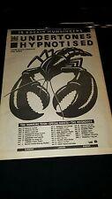The Undertones The Humming U.K. Tour Rare Original Promo Poster Ad Framed!